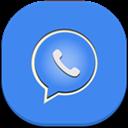 Flat, Mobile, Whatsapp Icon