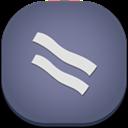 Baconreader, Flat, Mobile Icon