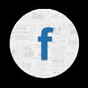 Facebook, Round Icon