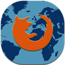 Firefox, Flat, Mobile Icon