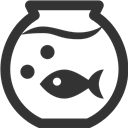 Fish, Tank Icon