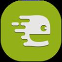 Endomondo, Flat, Mobile Icon