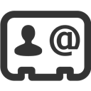 Business, Contact Icon