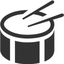 Drum, Side Icon
