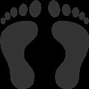 Footprints, Human Icon