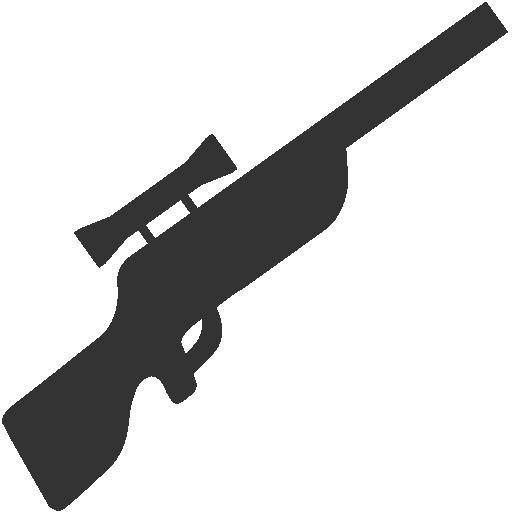 Rifle, Sniper Icon