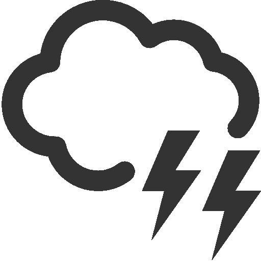 Cloud, Lighting Icon