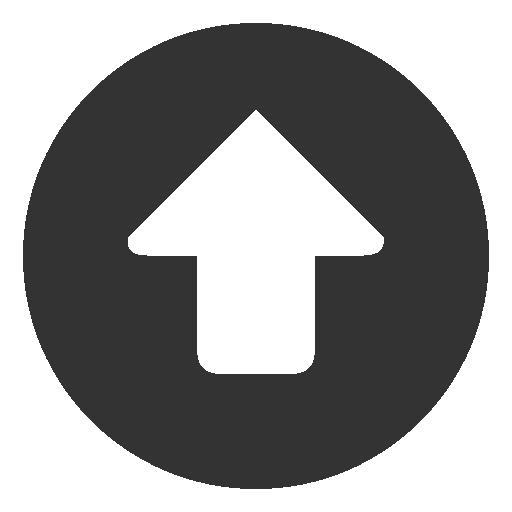 Circular, Up Icon