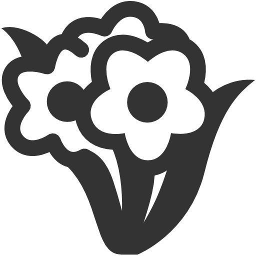 Bunch, Flowers Icon