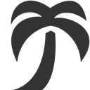 Palm, Tree Icon