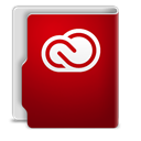 Adobe, Cloud, Creative, Folder Icon