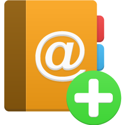 Add, Addressbook Icon