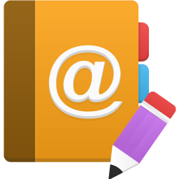 Addressbook, Edit Icon