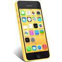 5c, Iphone, Yellow Icon