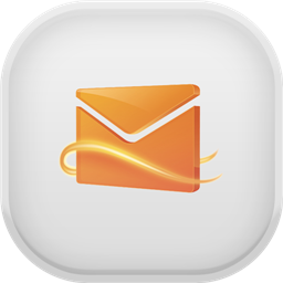 Hotmail Light Icon Download Free Icons