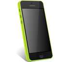 5c, Green, Iphone Icon