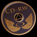 Cd, Disk, Rw Icon