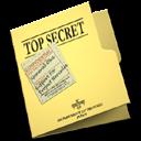 Folder, Secret, Top Icon