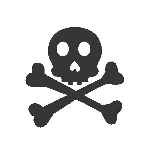 Crossbones, Icon, Skull Icon