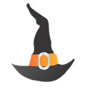 Hat, Icon, Witch Icon