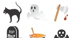 Halloween Creme Icons