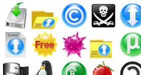 Torrent Icons
