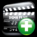 Add, Cinema Icon