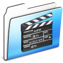 Folder, Movie, Old, Smooth Icon