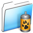 Folder, Smooth, Spray Icon