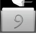 Classic, Folder, Graphite Icon