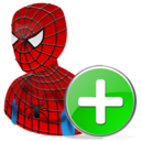 Add, Spiderman Icon