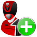 Add, Powerranger Icon