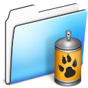 Folder, Sidebar, Smooth, Spray Icon