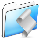 Folder, Script, Smooth Icon