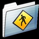 Folder, Graphite, Public, Stripe Icon