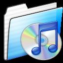 Folder, Itunes, Stripe Icon