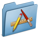 Applications, Blue Icon