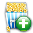 Add, Cinema Icon