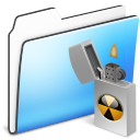 Alt, Burnable, Folder, Sidebar, Smooth Icon
