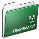 , Adobe, Folder, Framemaker Icon