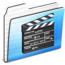 Folder, Movie, Old, Stripe Icon