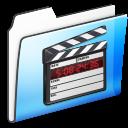 Folder, Movie, Smooth Icon