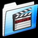 Folder, Movie, Stripe Icon