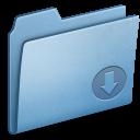 Blue, Drop Icon