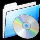 Cd, Folder, Stripe Icon