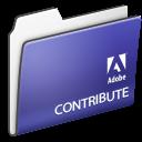 , Adobe, Contribute, Folder Icon