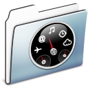 Dashboard, Folder, Graphite, Smooth Icon