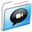 Folder, Ichat, Smooth Icon