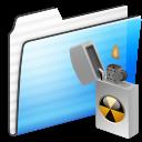 Alt, Burnable, Folder, Sidebar, Stripe Icon