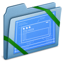 Blue, Themes Icon